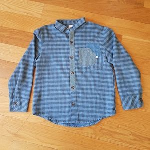 Fore! Axel & Hudson Boys Flannel Button Down